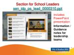 includes powerpoint presentation information guidance notes for leadership teams