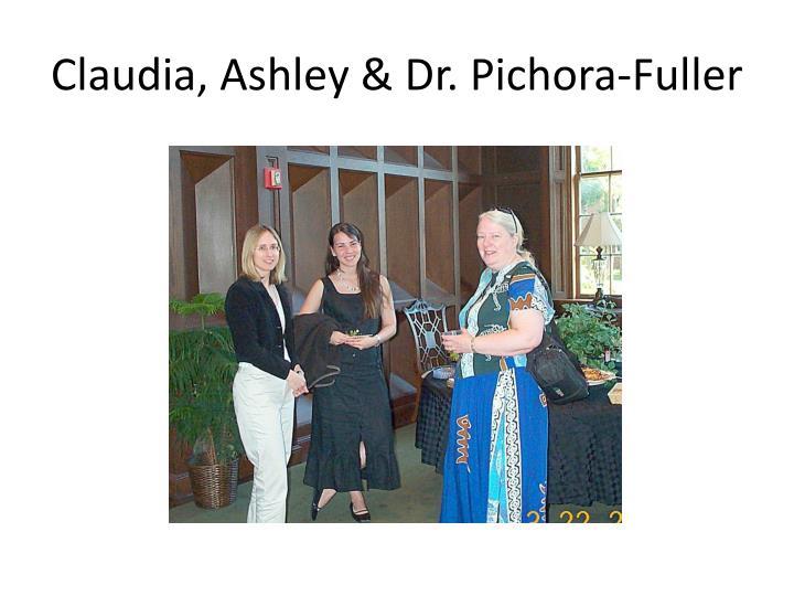 Claudia, Ashley & Dr.