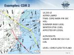 examples cdr 2