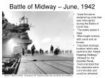 battle of midway june 19421