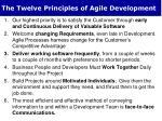 the twelve principles of agile development