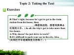 topic 2 taking the taxi15