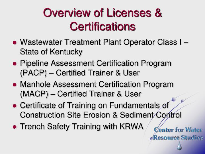 PPT - Center for Water Resource Studies - WKU Field Operations Unit ...