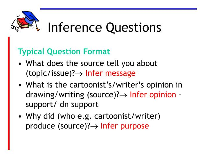 Inference questions