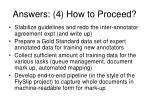 answers 4 how to proceed