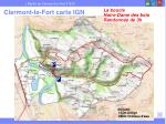 clermont le fort carte ign