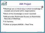 ami project