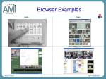 browser examples