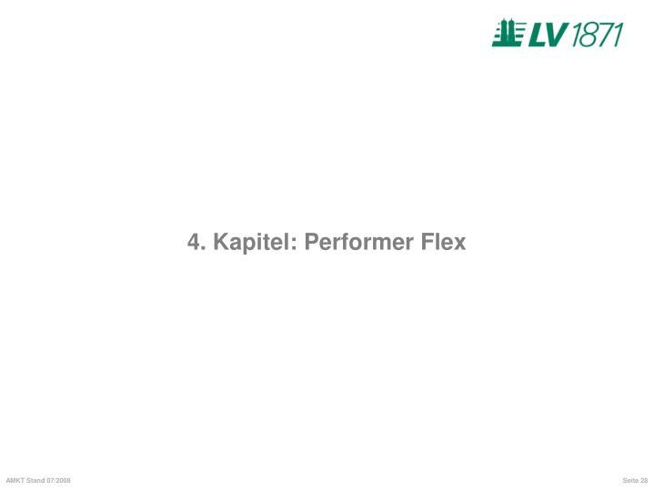 4. Kapitel: Performer Flex