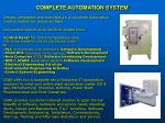 complete automation system