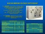 elecab medium voltage switchgear