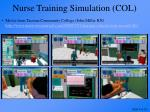 nurse training simulation col