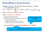 embedding of permutations1