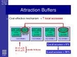 attraction buffers