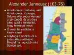 alexander janneusz 103 76