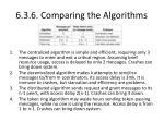 6 3 6 comparing the algorithms