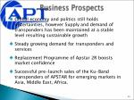 business prospects