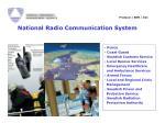 national radio communication system