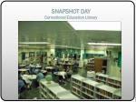 snapshot day correctional education library4