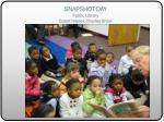 snapshot day public library guest reader charles short