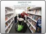 snapshot day public library silver reader bookmobile serves seniors