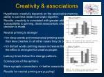 creativity associations