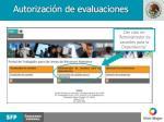 autorizaci n de evaluaciones1