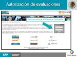 autorizaci n de evaluaciones2