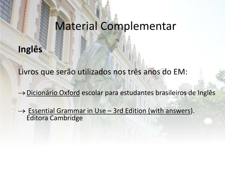 Material Complementar