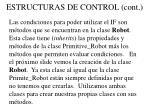 estructuras de control cont