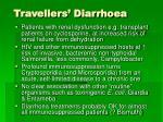 travellers diarrhoea
