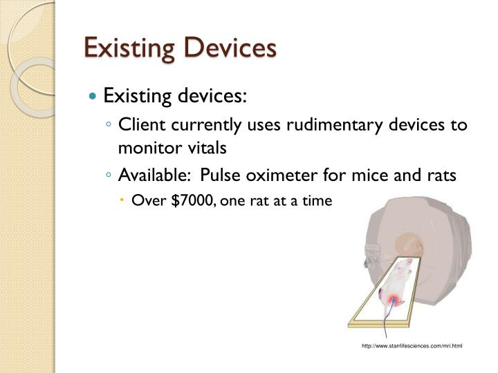 Existing Devices