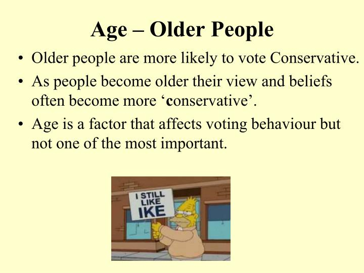 Age older people