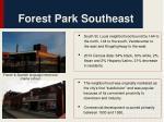 forest park southeast