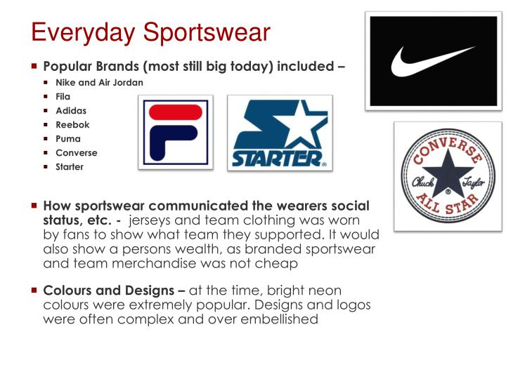 Everyday Sportswear