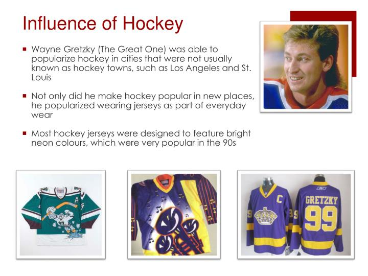 Influence of hockey