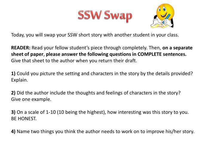 SSW Swap