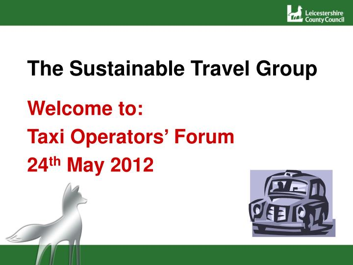 the sustainable travel group n.