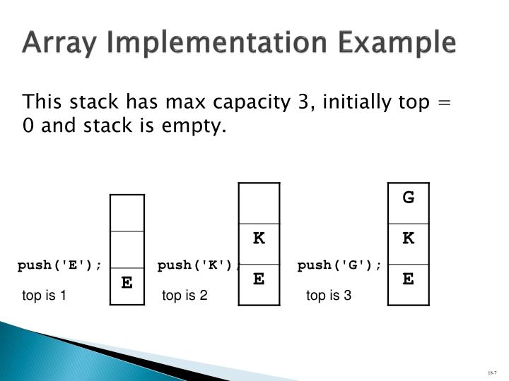 Array Implementation Example