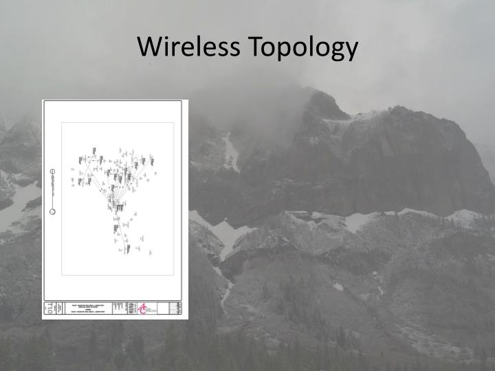 Wireless Topology