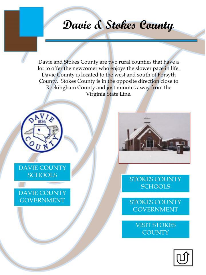 Davie & Stokes County