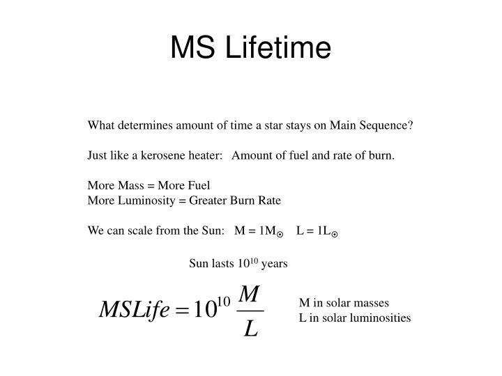 MS Lifetime
