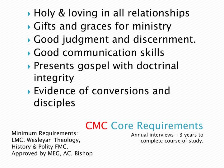 Holy & loving in all relationships