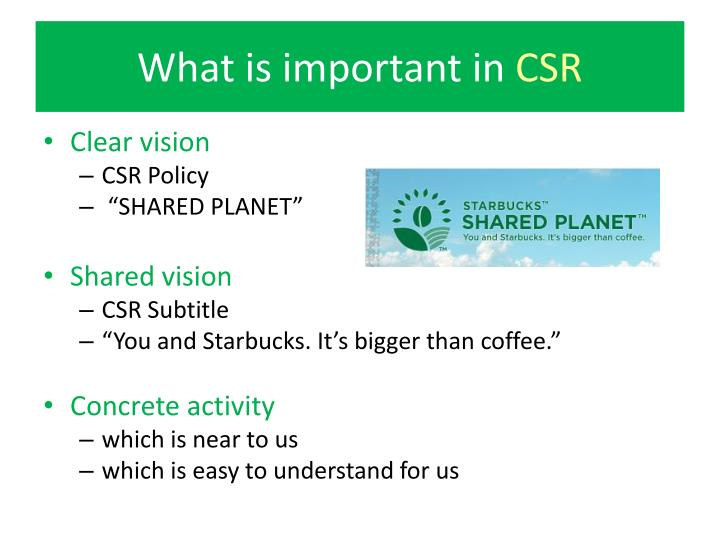csr is important 1 why every company needs a csr strategy and how to build it the topic of corporate responsibility has been captioned under many names, including.