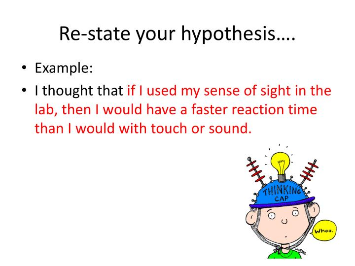 🎉 state your hypothesis how do i write a good hypothesis