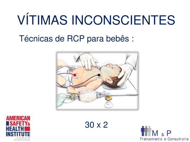 Técnicas de RCP para bebês :