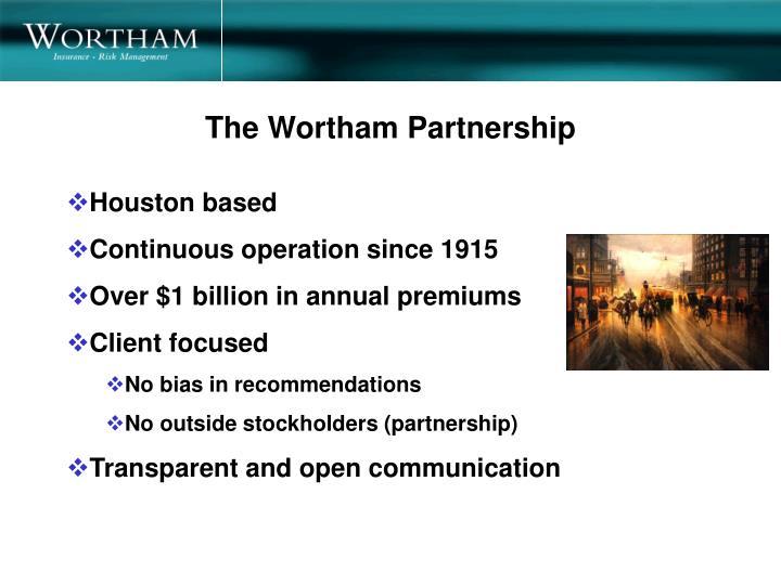 The Wortham Partnership