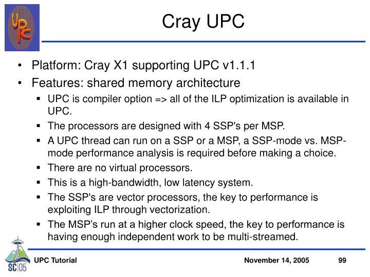 Cray UPC
