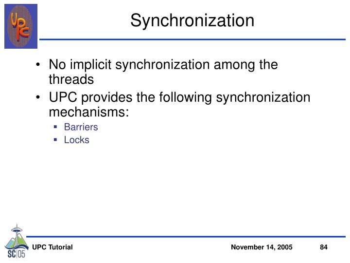 Synchronization