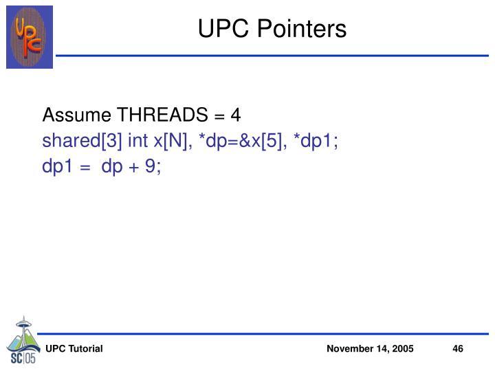 UPC Pointers